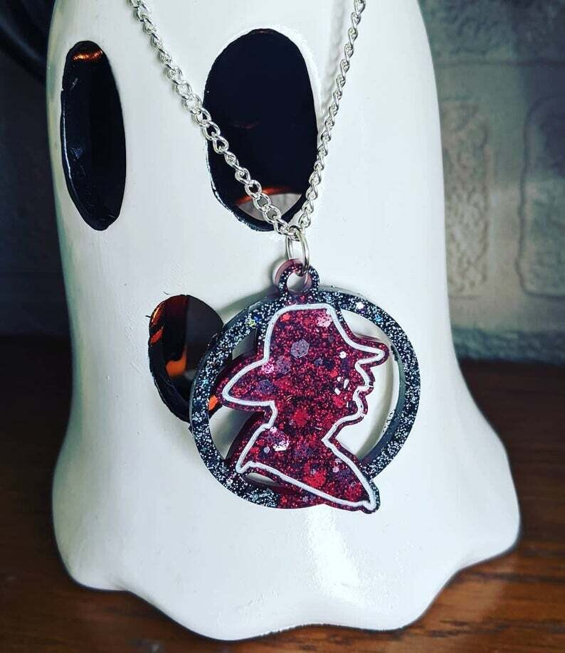 Handmade Necklace Resin Freddy