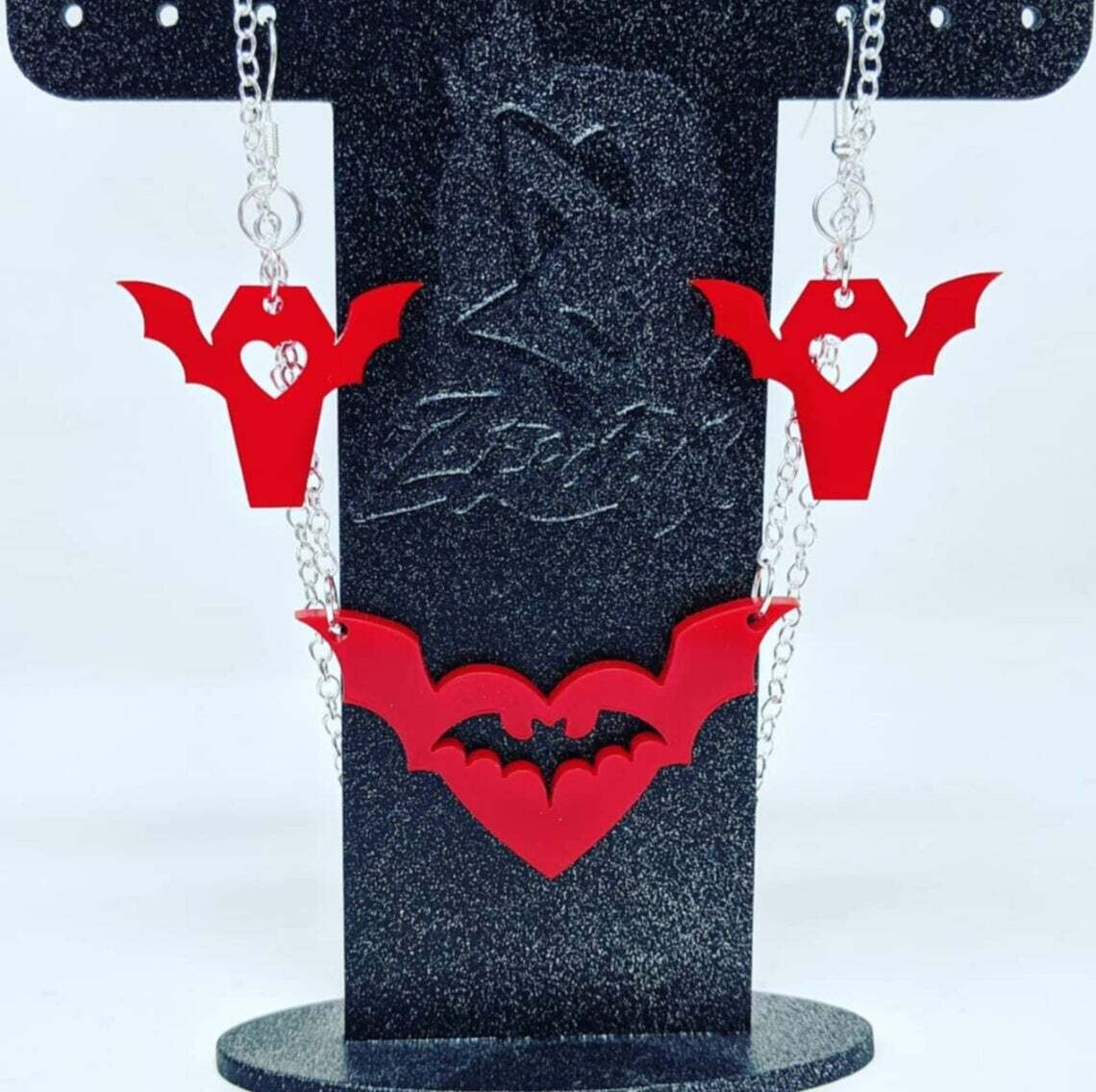 Batty About You Set Red