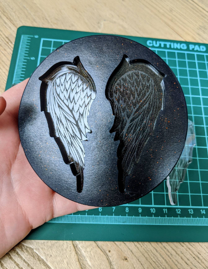 Mould Angel Wings 10cm