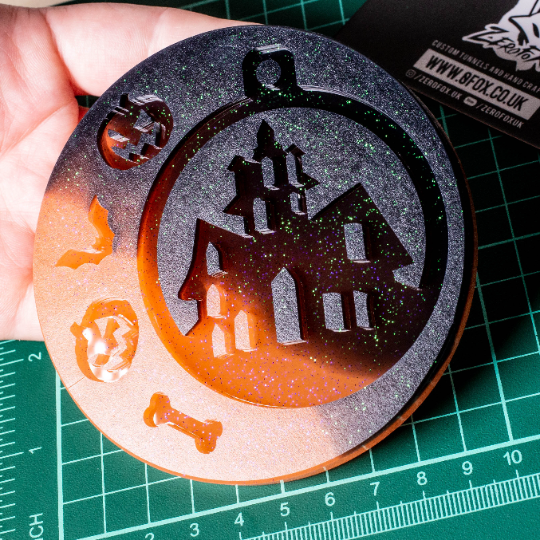 Mould Haunted House Bauble