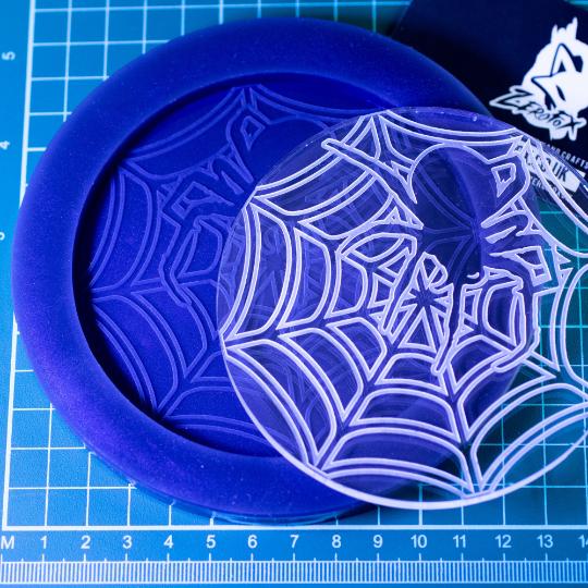 Mould Spider Web Coaster