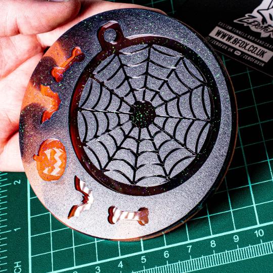 Mould Spider Web Bauble