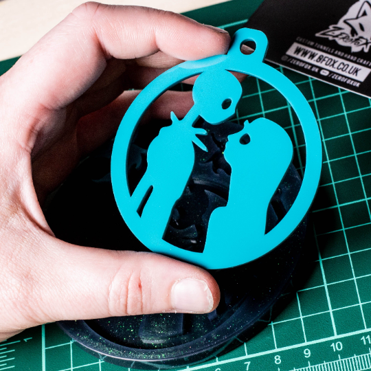 Mould Jack & Sally Bauble