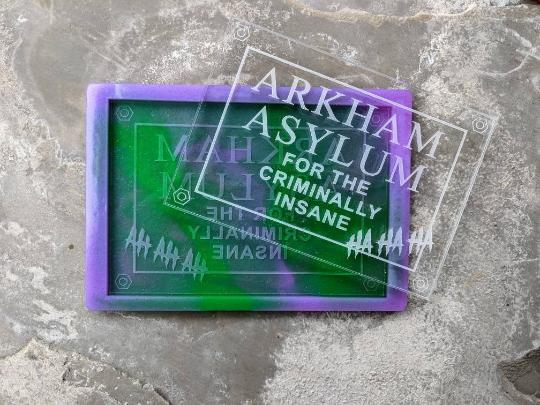 Mould Arkham Asylum Large 24x16.5cm