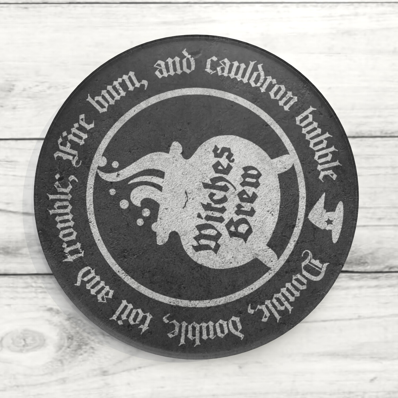 Witches Brew Custom Acrylic Coaster
