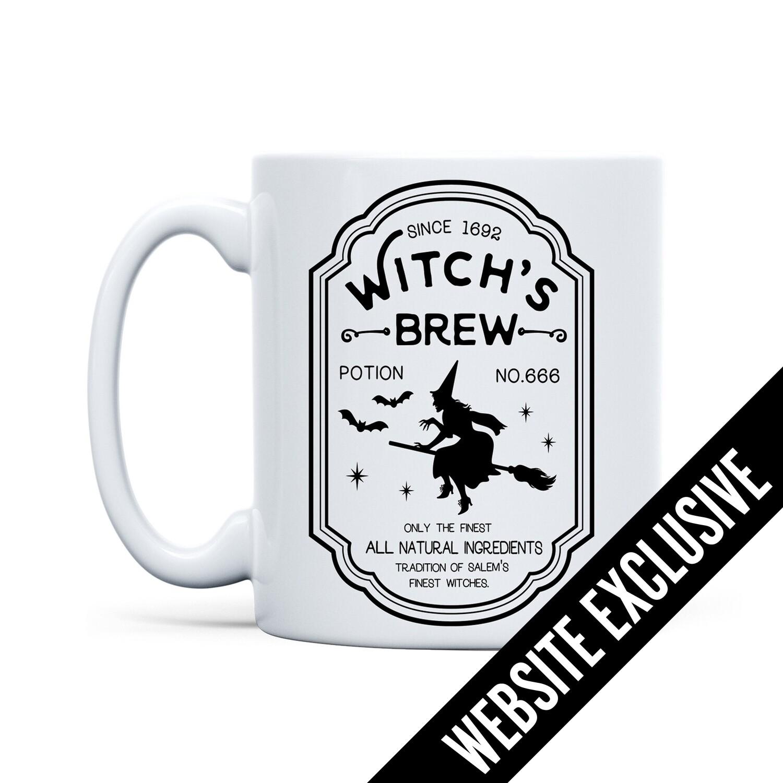 Mug Witch's Brew (White)