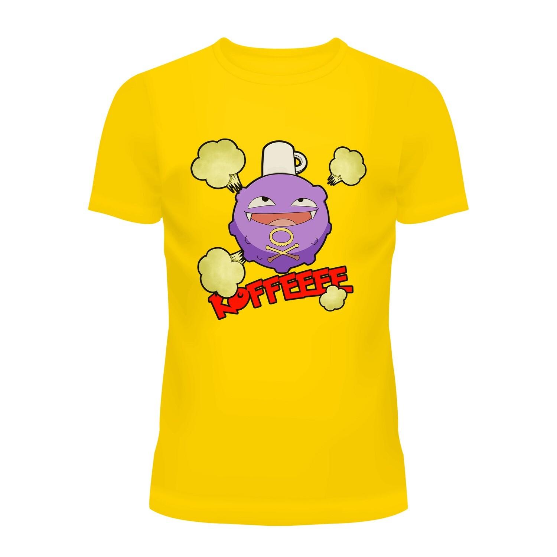 Cotton T-Shirt Koffeeee