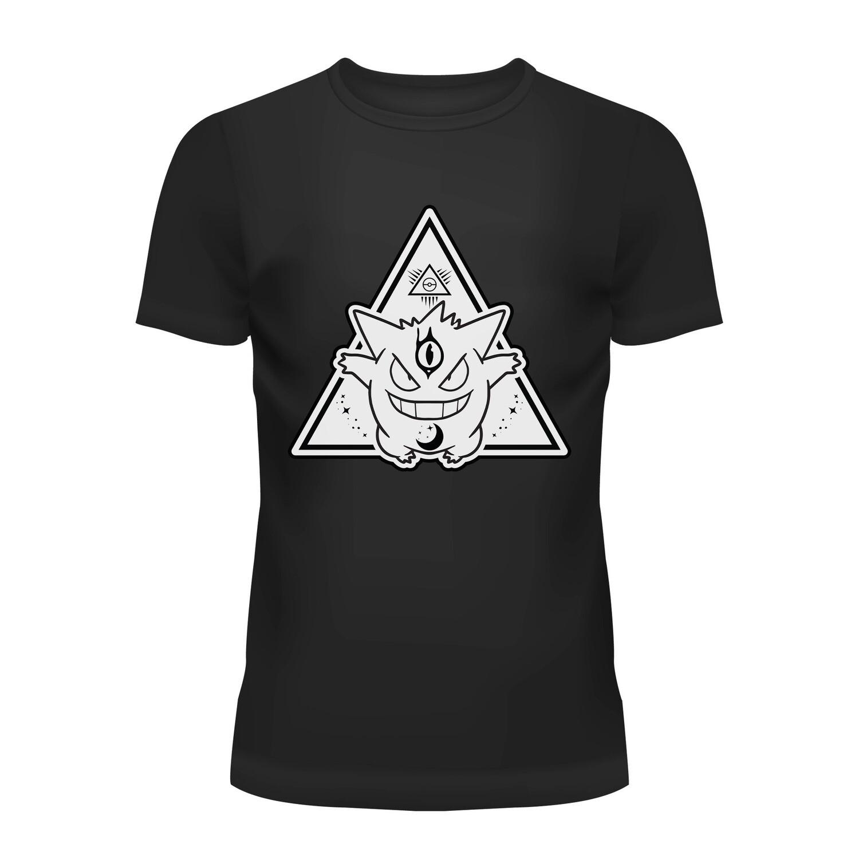 Cotton T-Shirt Mystic Gengar