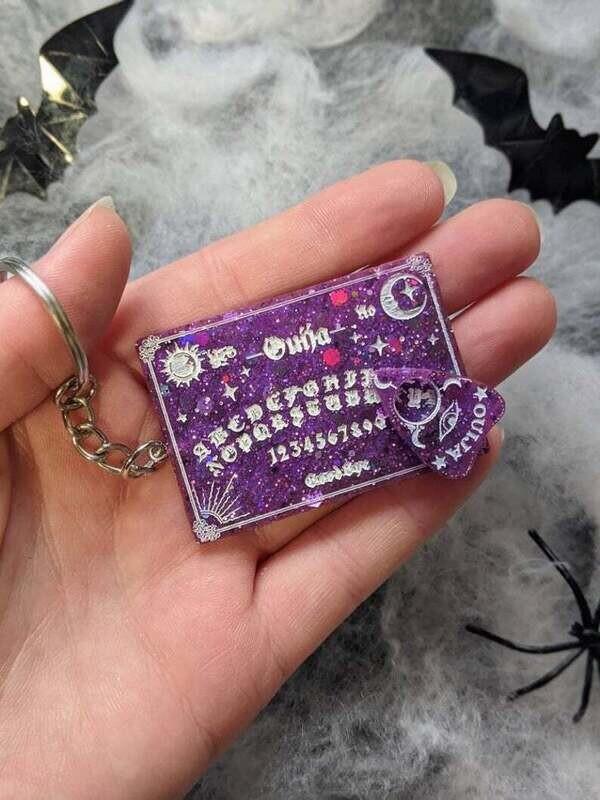 Keyring Resin Ouija Board