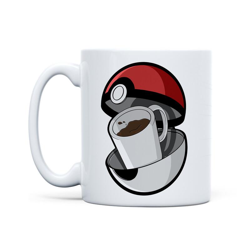 Mug White (Coffee... I Choose YOU!)