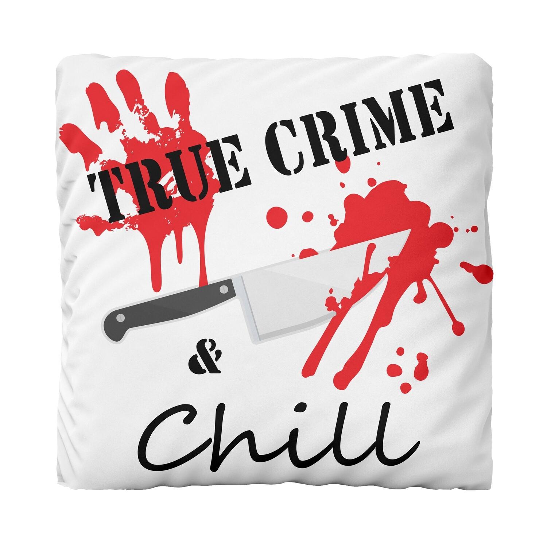 Canvas Cushion (True Crime)