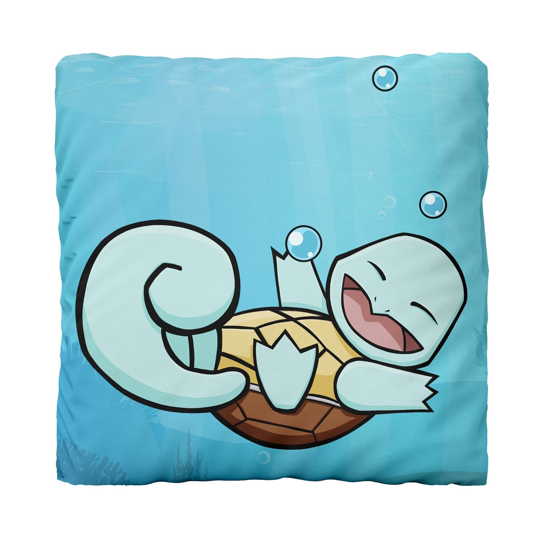 Canvas Cushion (Happy Squirtle JW)