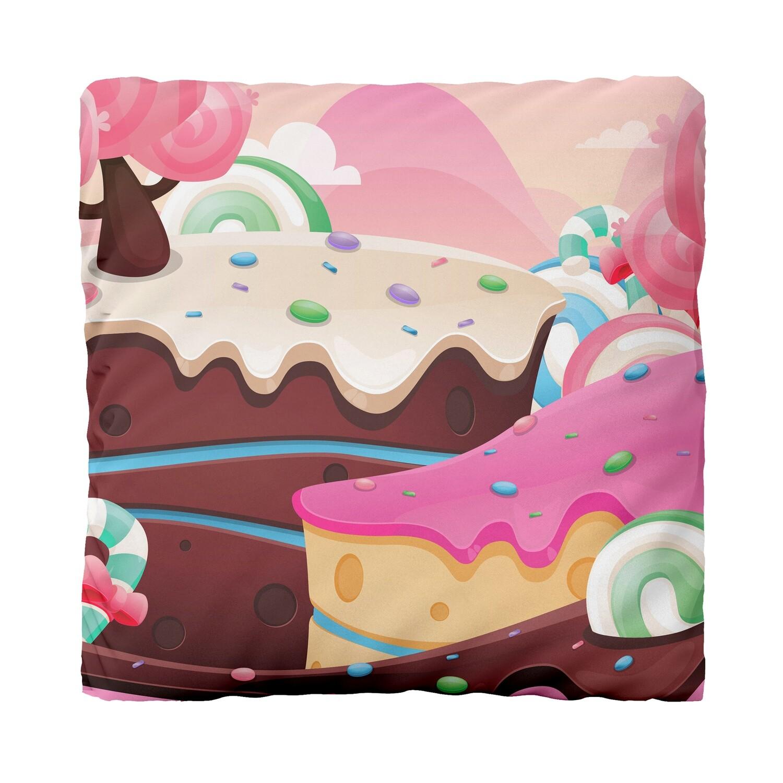 Canvas Cushion (Sugar Rush)