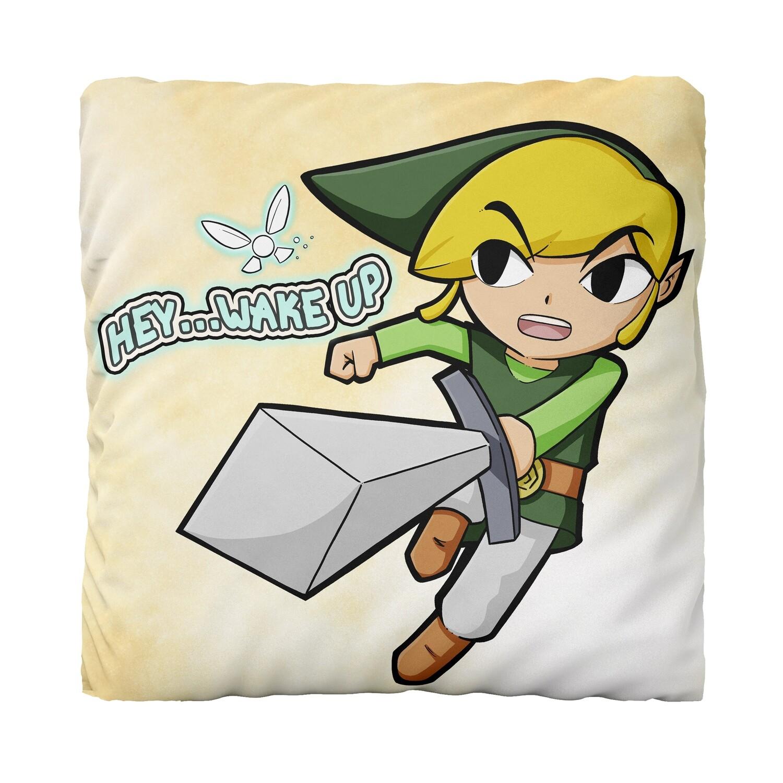 Canvas Cushion (Link Hey Wake Up)