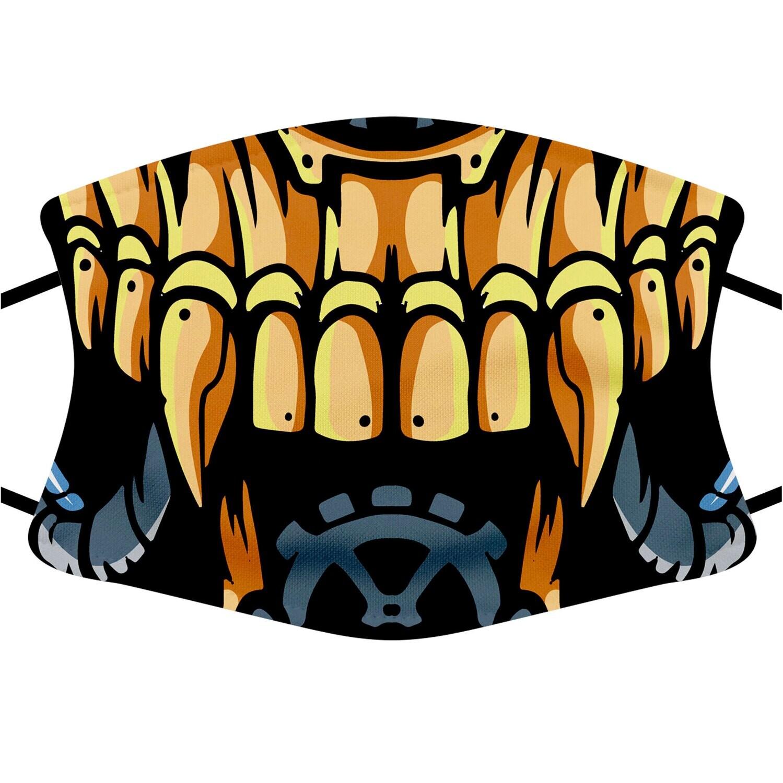 Face Mask Adult (Robo Skull)