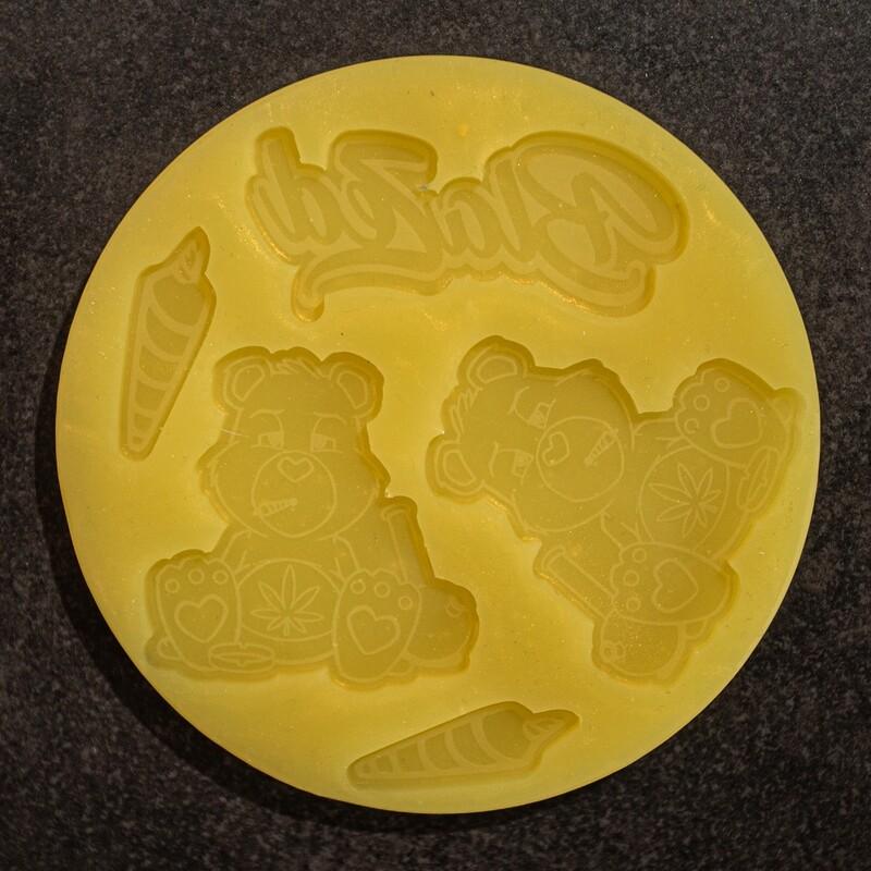 Mould Scarebears Blazed 10 cm