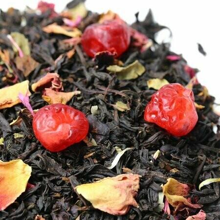 Дикая Вишня - черный чай