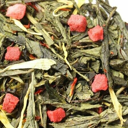 Клубника Со Сливками Сенча - Чай Зеленый