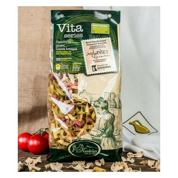 Лапша овощная (хилопитес) VEGETABLE CHILOPITES (0,5 кг. х 12шт)