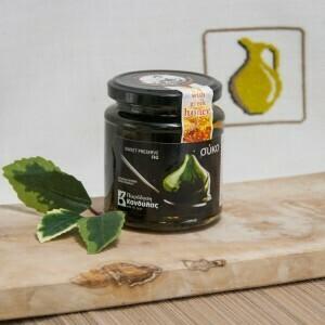 "Инжир в сахарном сиропе с медом ""KANDULAS"" 400гр Греция"
