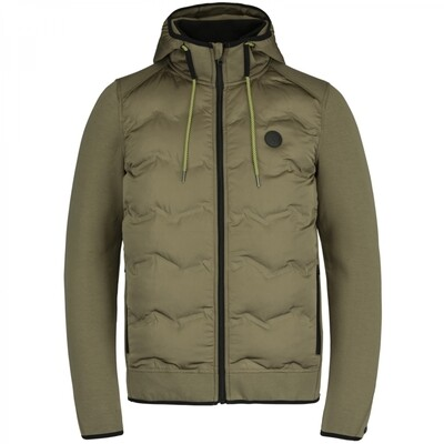 Cast Iron |  Hooded Jacket Tech Jersey Interlock CJA21145-8035