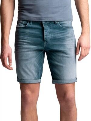 Cast Iron | Cope Grey Blue Comfort Short CSH212753-GCB