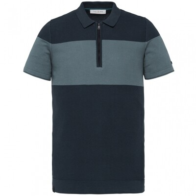 Cast Iron | Short Sleeve Polo Knitted Fine Cotton CPSS212866 - 5119
