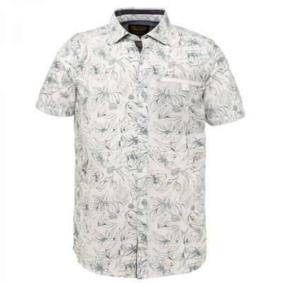 PME Legend | Short Sleeve Shirt Poplin With Ao Print PSIS212253 - 7003