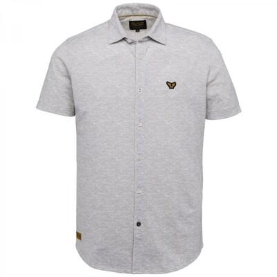 PME Legend | Short Sleeve Shirt Pique With A/O Print PSIS212279 - 9017