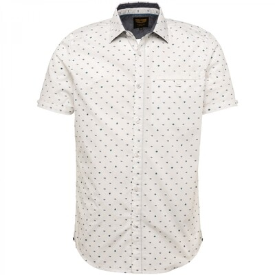 PME Legend | Short Sleeve Shirt Poplin With All-Over Print PSIS212251 - 7003