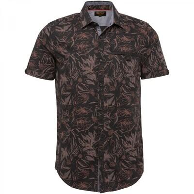 PME Legend | Short Sleeve Shirt Poplin With Ao Print PSIS212253 - 9123