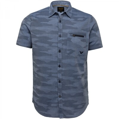 PME Legend | Short Sleeve Shirt Chambray With Aop PSIS212267 - 5316
