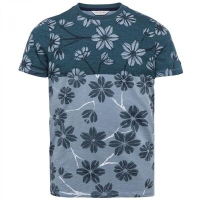 Cast Iron | Printed Slub Slim Fit T-Shirt CTSS212558-5145