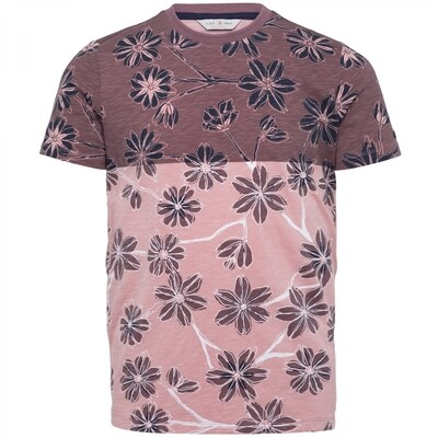 Cast Iron | Printed Slub Slim Fit T-Shirt CTSS212558-3207