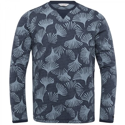 Cast Iron | Jacquard Light Sweater CLS212562-5119