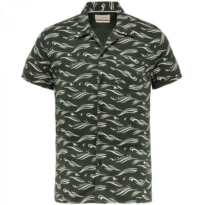 Cast Iron | Printed Short Sleeve Overhemd CSIS213248-6147