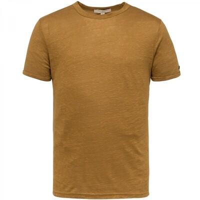 Cast Iron | Linen Slim Fit T-Shirt CTSS213551-8054