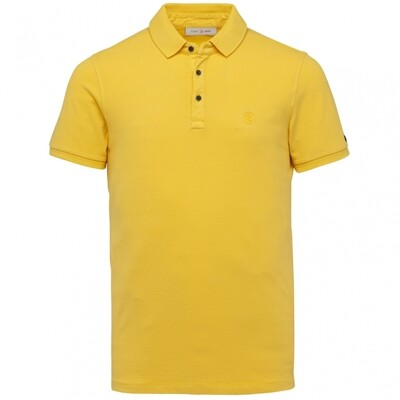 Cast Iron | Light Pique Stretch Washed Polo CPSS214878-1057