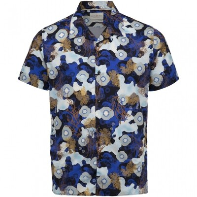Cast iron | Coral Reeve Short Sleeve Overhemd CSIS214254-5318