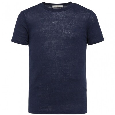 Cast Iron | Linen Slim Fit T-Shirt CTSS214582-5318