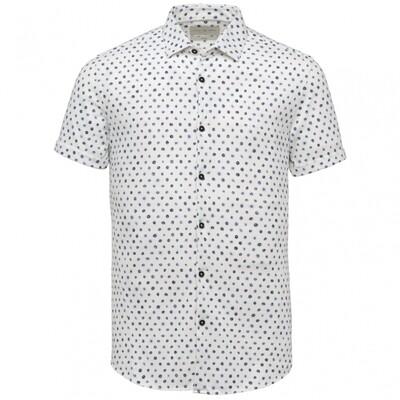 Cast Iron | Jersey Pique Short Sleeve Overhemd CSIS214252-900