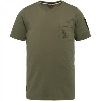 PME Legend   Jersey Short Sleeve R-Neck T-Shirt PTSS214554-6149