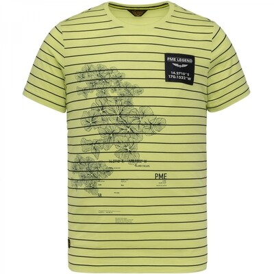 PME Legend | Jersey Printed T-Shirt PTSS214561-6315
