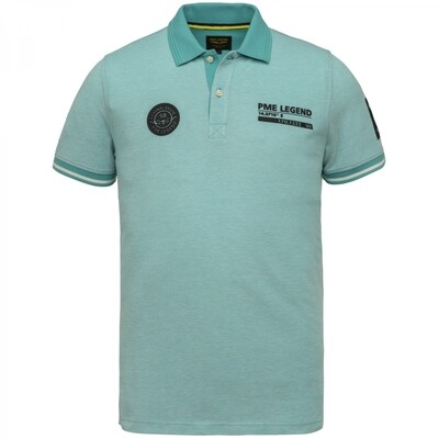 PME Legend | Short Sleeve Polo Two Tone PiquePPSS214873-5255