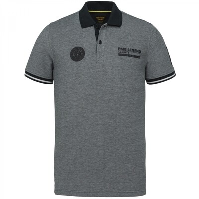 PME Legend | Short Sleeve Polo Two Tone Pique PPSS214873-5073
