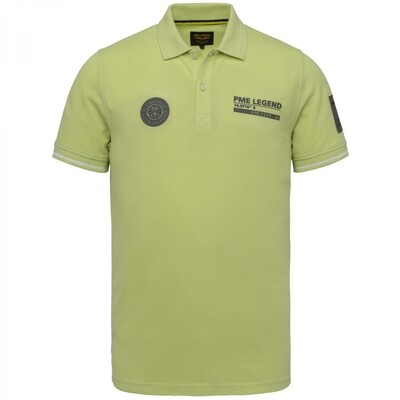 PME Legend | Short Sleeve Polo Two Tone Pique PPSS214873-6315