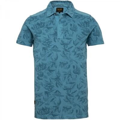 PME Legend   Garment Dye Short Sleeve Polo PPSS212865-5165