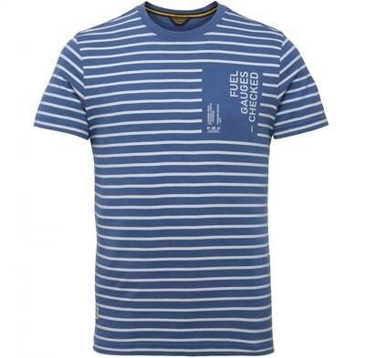 PME Legend | Short Sleeve R-Neck Y/D Striped Jersey PTSS215572-590