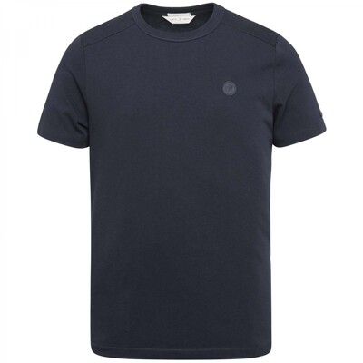 R-Neck Relaxed Fit Fabric Dyed Slub T-Shirt CTSS215550-5073