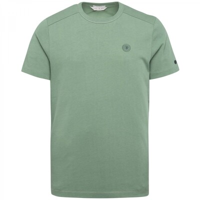 R-Neck Relaxed Fit Fabric Dyed Slub T-Shirt CTSS215550-6144
